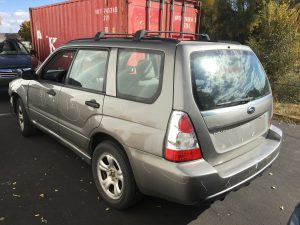 2006 Forester left rear