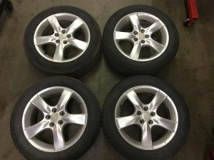 2007 Impreza wagon wheels and tires