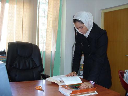 jaala shaw studying in Afghanistan