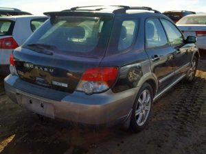2005 impreza outback rear right