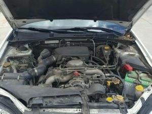 2007 Outback engine bay