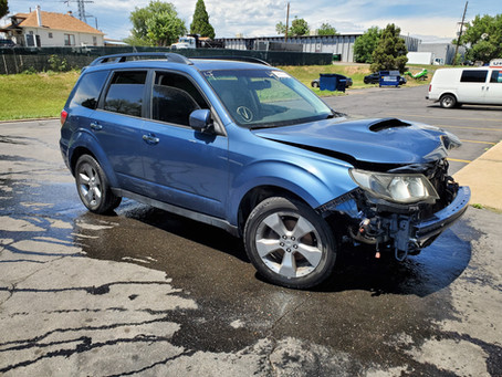 2009 Subaru Forester XT 2.5l 4EAT 155k Newport Blue