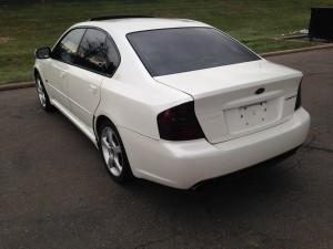 2006 Subaru Legacy GT left rear