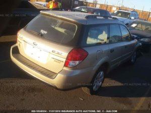 2008 Subaru Outback RR