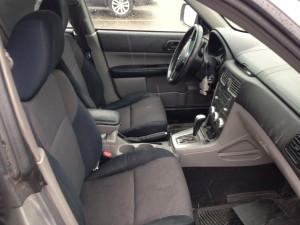 2008 Subaru Forester X Sports interior