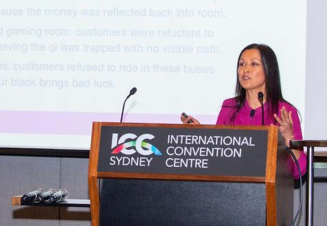 jane langof at ICC Conference