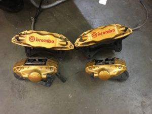 2006 STI brembo brakes