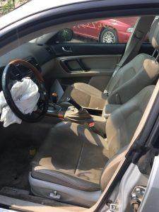 2005 Subaru outback interior