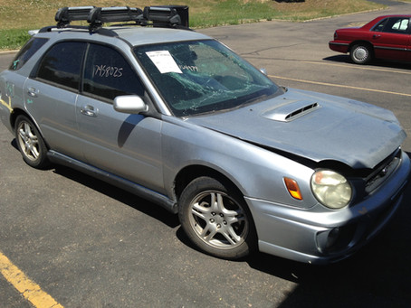 2003 Subaru WRX wagon MT full part out 164k