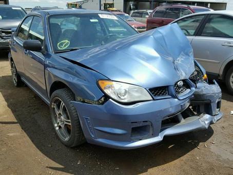 2007 Subaru Impreza sedan 178K Blue 5speed M/T