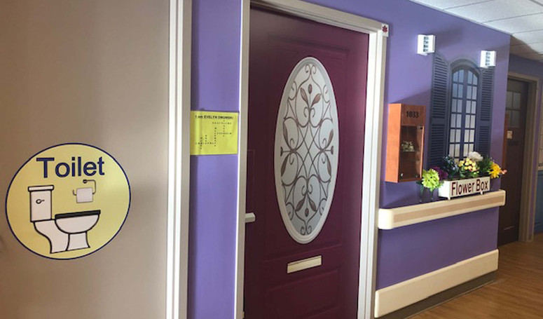 henley house butterfly model of care resident doors