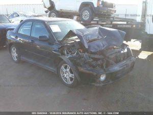 2002 Subaru WRX sedan RF