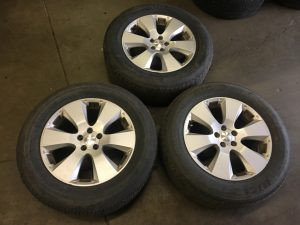 2010 Outback wheels