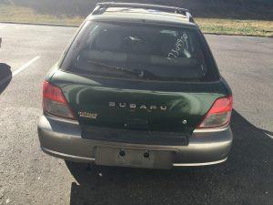 2002 Impreza outback sport rear