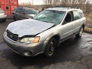 2007 outback wagon left front