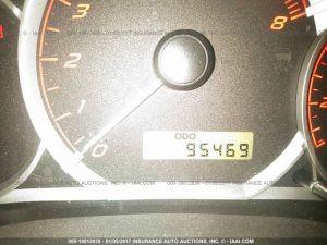 2008 Subaru WRX hatch cluster