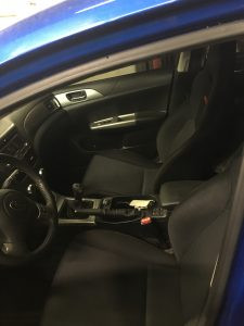 2009 WRX hatch interior