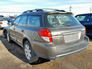 2008 outback rear left