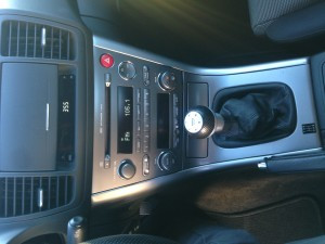 2005 Subaru Legacy GT radio