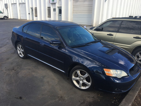 2006 Subaru Legacy GT limited 195k Automatic blue complete PART OUT