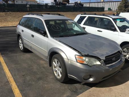 2006 Subaru Outback 2.5l 137k Auto 4EAT Silver/gray