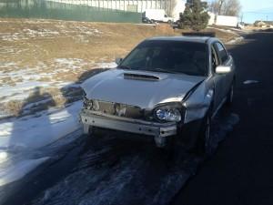 2005 WRX sedan left front