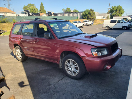 2005 Subaru Forester XT 2.5l 4EAT 115k Red