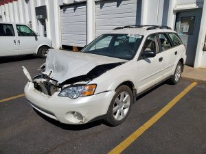 2006 Outback front left