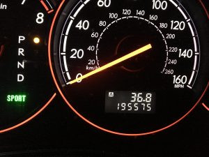 2006 Legacy GT sedan cluster