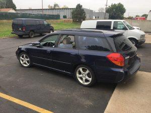 2005 Legacy GT wagon left rear