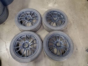 2008 STI hatch wheels set