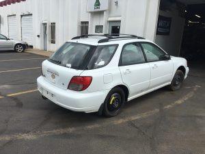 2002 Impreza right rear side