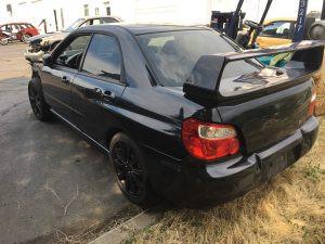 2007 WRX sedan left rear
