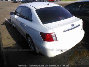 2008 Subaru WRX sedan  LR