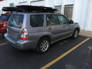 2008 Forester right rear