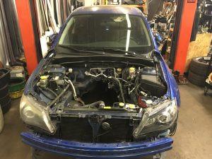 2009 WRX hatch front