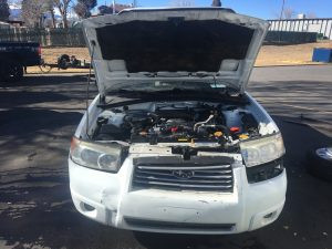 2008 forester front