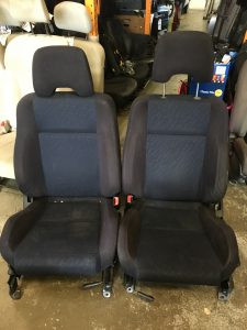 2002 WRX front seats