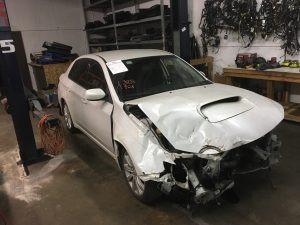 2008 Subaru WRX sedan RF