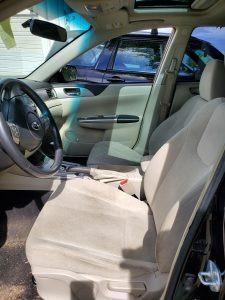2009 Impreza sedan interior
