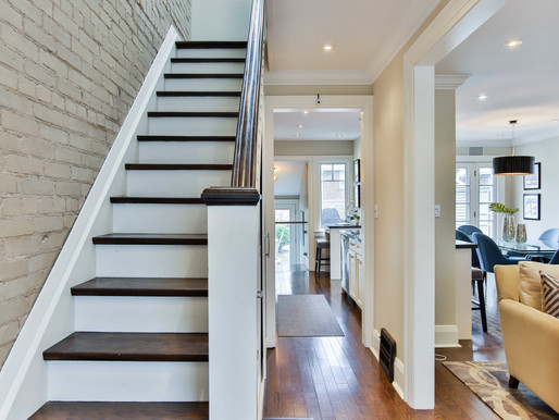 Staircases Facing the Front Door