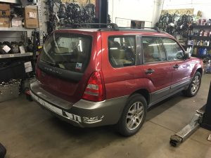 2005 Subaru forester right rear