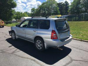 2004 Subaru forester xt left rear