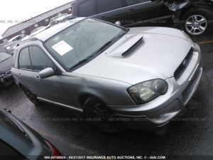 2005 Subaru wrx wagon front right