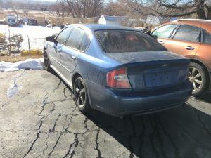 2006 Subaru Legacy sedan 2.5l 166k Auto Blue