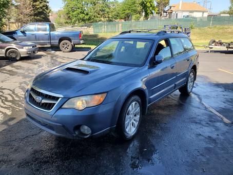 2008 Subaru Outback XT 2.5L 130k A/T Newport blue