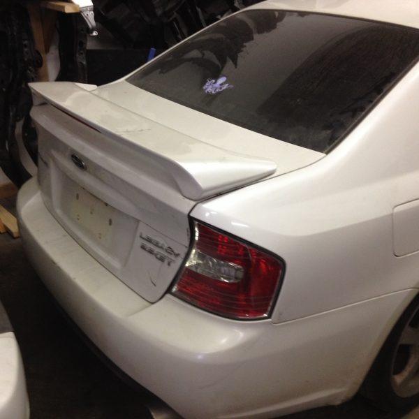 2005 Subaru Legacy GT trunk