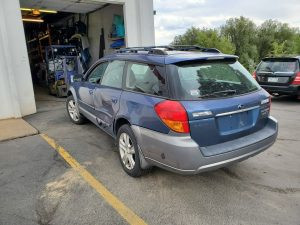 2005 outback xt rear left
