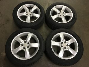 2007 impreza wagon wheels and tires