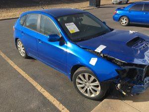 2008 Subaru WRX hatch RF